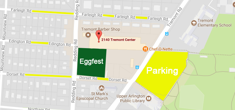 ohio eggfest parking